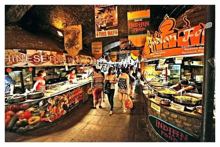 Camden Markets Food