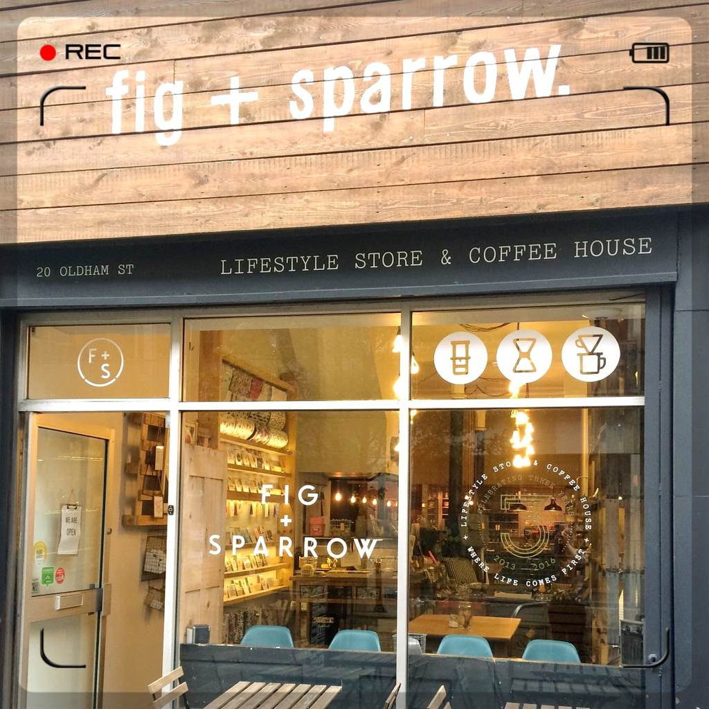 Coffee at Fig & Sparrow Manchester