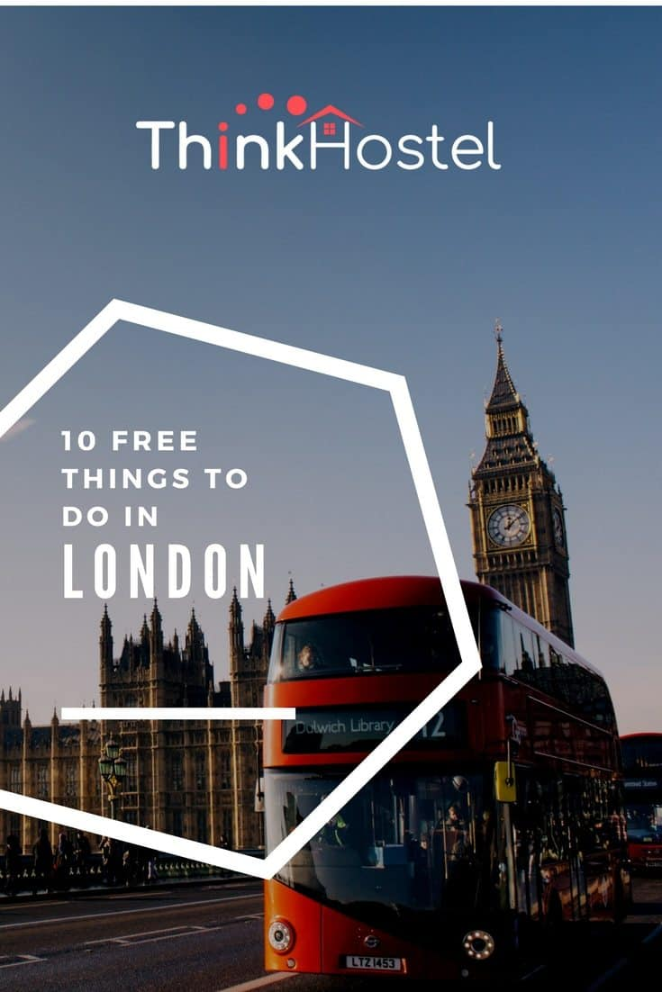 10 free things of london