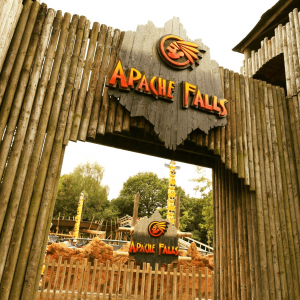 Gullivers Warrington Theme Park Apache Falls