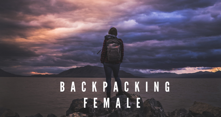 BACKPACKING FEMALE