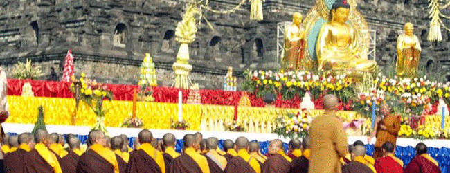 Buddhist on waisak day