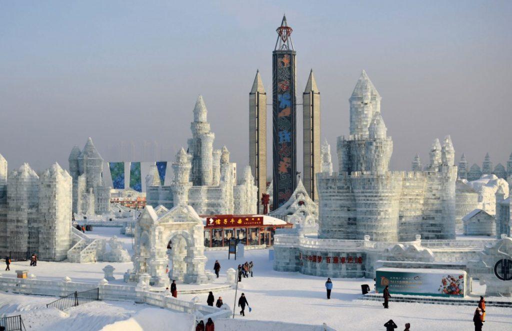 China Ice Festival Herbin
