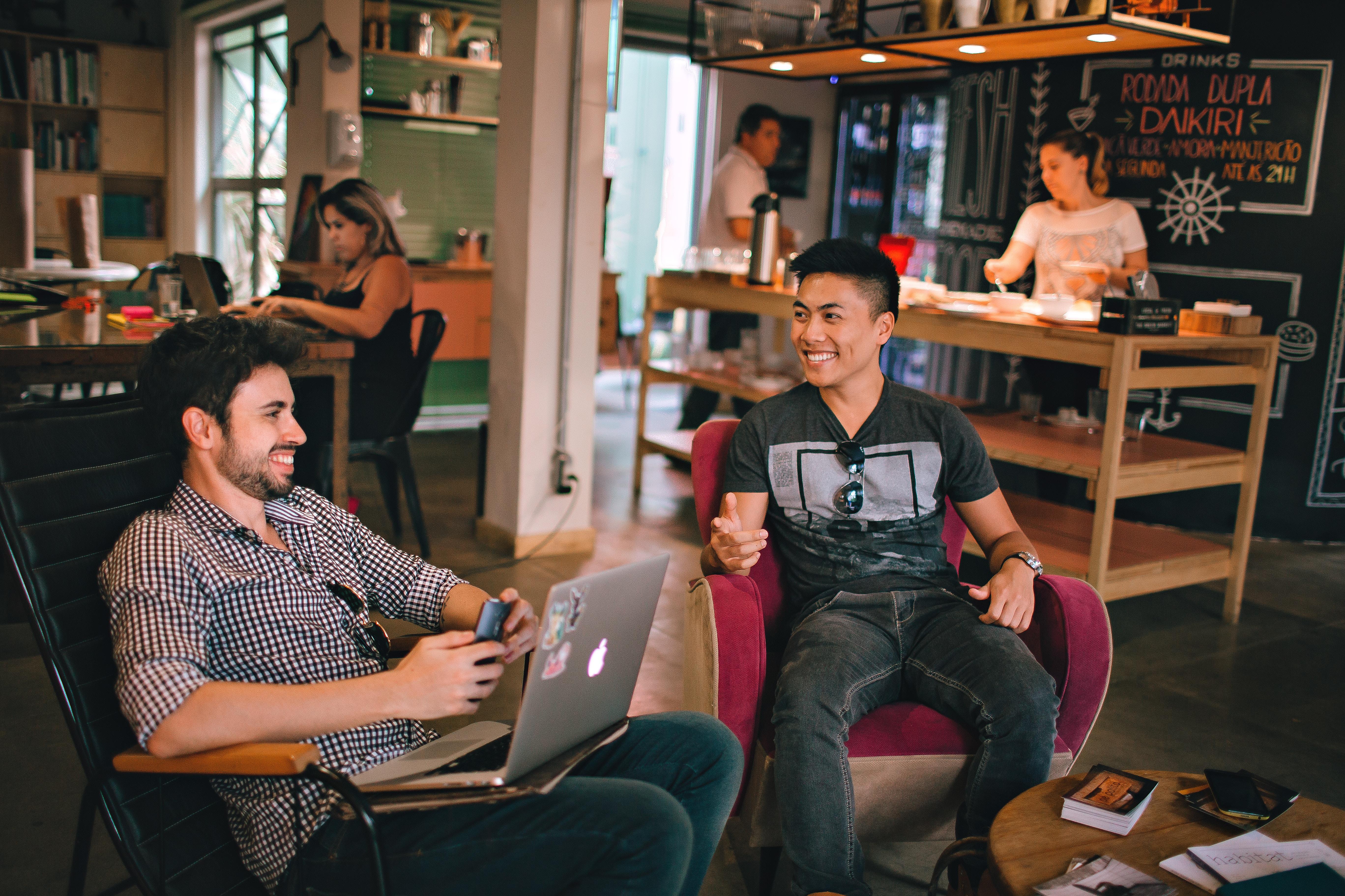 Coworking hostel in london