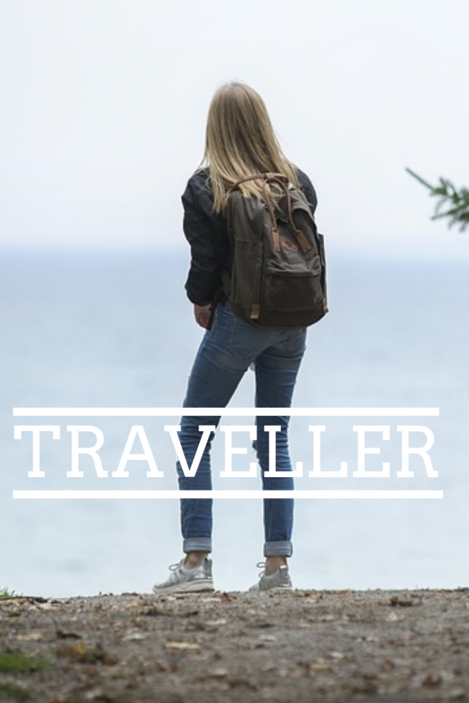 Female traveller