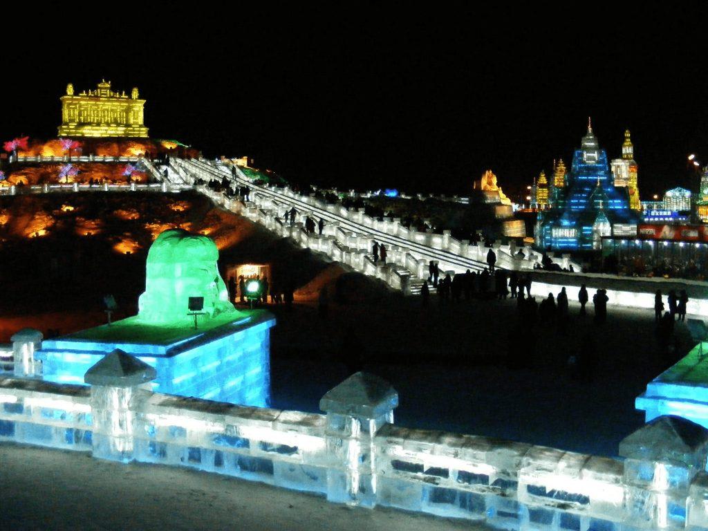 Ice Festival Herbin China