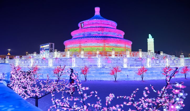 Ice Festival Herbin