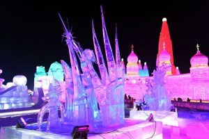 Ice festival herbin china