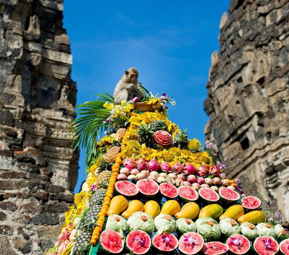 Lopburi Monkey Banquet 6