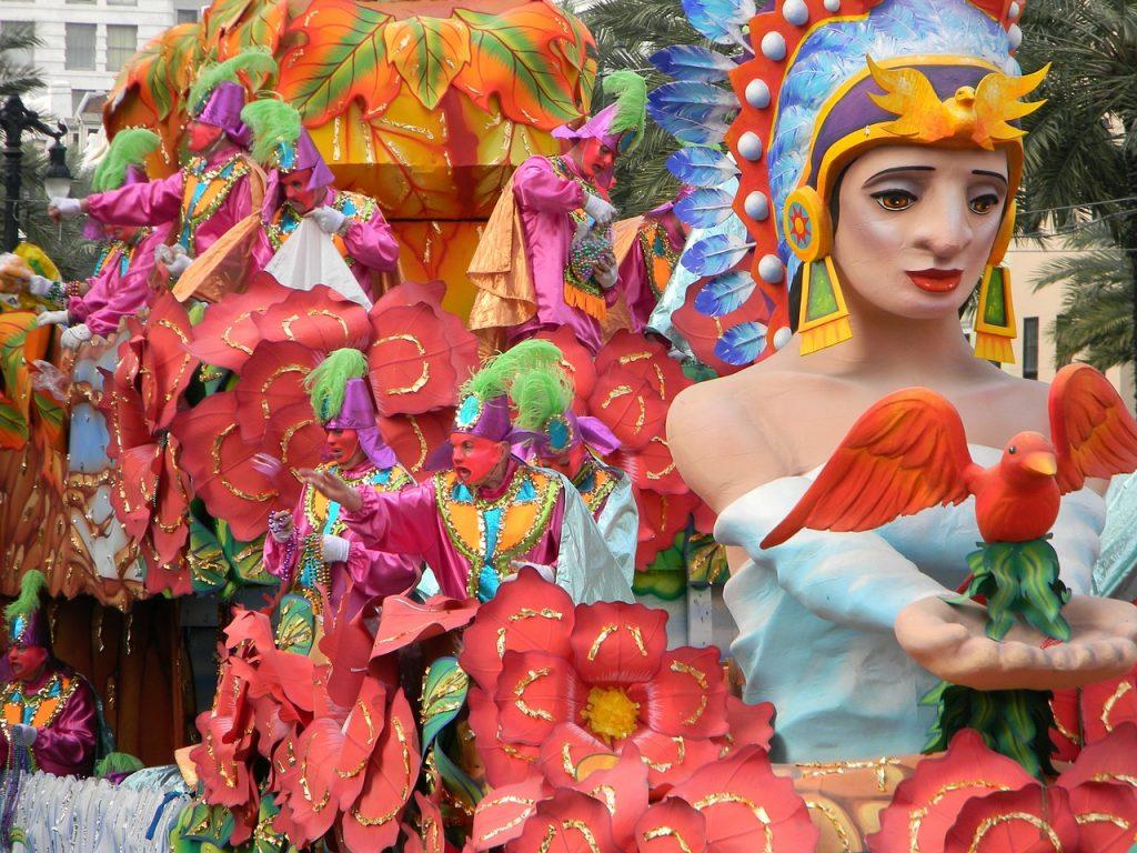 Mardi Gras Festival Celebrations
