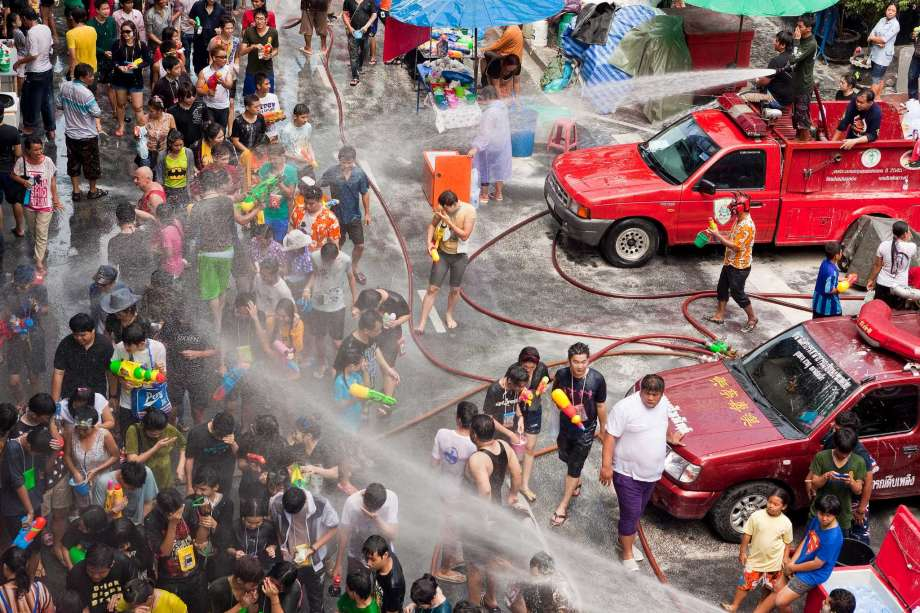 Songkran Celebrations