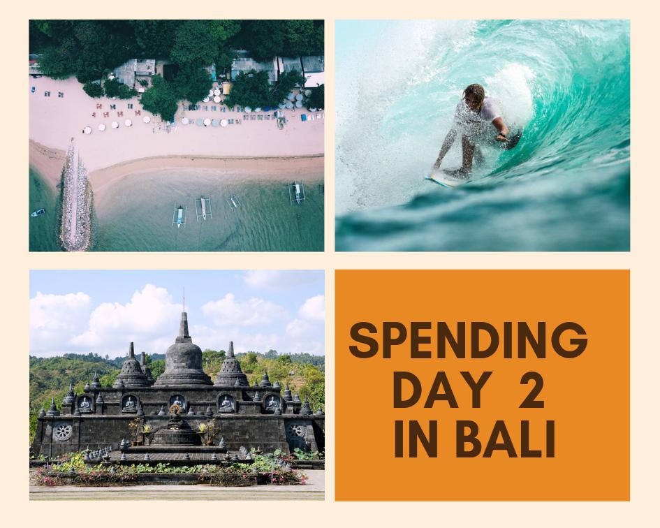 Spending day 2 in bali
